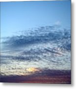 Painted Sky Six Metal Print
