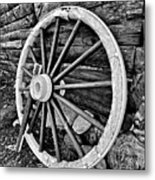 Painted Wagon Metal Print