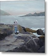 Painter Of The Sea - Art By Bill Tomsa Metal Print
