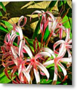 Painterly Effects Metal Print