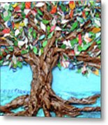 Painters Palette Of Tree Colors Metal Print