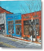 Paintin The Town Metal Print