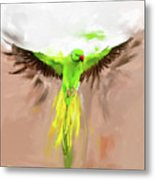 Painting 661 1 Bird 8 Metal Print