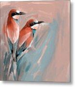 Painting 662 2 Bird 9 Metal Print