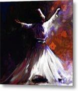 Painting 716 2 Sufi Whirl 2 Metal Print