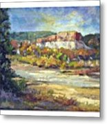 Painting In New Mexico Metal Print