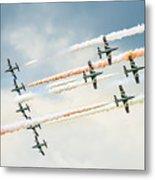 Painting The Skies Metal Print