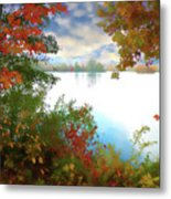Paints Of Fall Metal Print