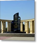 Pakistan Air Force Martyrs Monument Honoring Dead Pakistani Airmen At Paf Museum Karachi Pakistan Metal Print