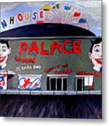 Palace Amusements Asbury Park Nj Metal Print