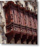 Palace Balcony Metal Print