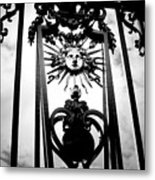 Palace Gate Metal Print