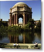Palace Of Fine Arts Sf 2 Metal Print