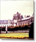 Palace Of Fontainebleau 1955 Metal Print