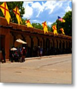 Palace Of The Governors Metal Print