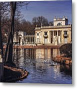 Palace On The Water  Metal Print