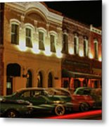 Palace Saloon Car Show Drive By Metal Print