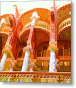 Palau De La Musica Catalana Window Metal Print