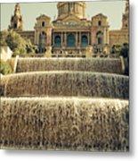 Palau Nacional Barcelona Metal Print