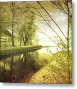 Pale Reflections Of Life Metal Print