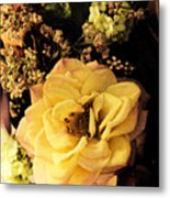 Pale Rose Metal Print