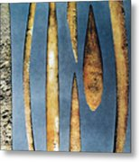 Paleolithic Spears Metal Print