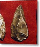 Paleolithic Tools Metal Print