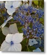 Paler Shades Of Blue Metal Print