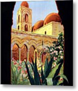 Palermo Italy Metal Print