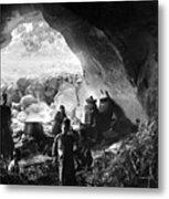 Palestine: Cave Dwelling Metal Print