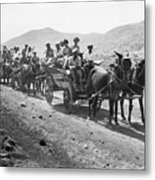 Palestine Colonists, 1920 Metal Print