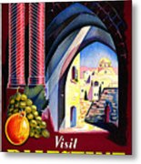 Palestine Travel Poster Metal Print