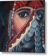 Palestinian Woman Metal Print