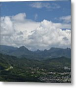 Pali Overlook Metal Print