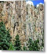 Palisades - Cimarron Canyon State Park - New Mexico Metal Print