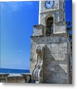 Palm Beach Clock Tower  Metal Print