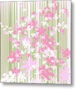 Palm Beach Floral II Metal Print