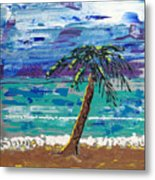 Palm Beach Metal Print