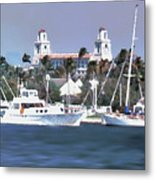 Palm Beach Middel Bridge Metal Print