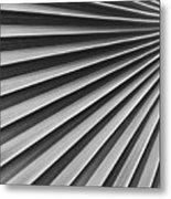 Palm Fan Pattern Metal Print