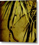 Palm Fronds Are Green Metal Print