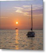 Palm Harbor Has The Best Sunsets Metal Print