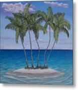 Palm Island Metal Print