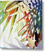 Palm Patterns 2 Metal Print