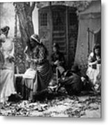 Palm Reading, C1902 Metal Print
