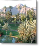 Palm Springs Ca Metal Print