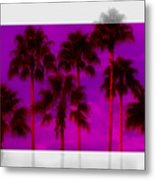 Palm Tree Heaven Metal Print