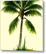 Palm Tree Number 1 Metal Print