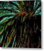 Palm Trees 40 Version 2 Metal Print