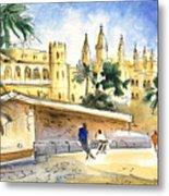 Palma De Mallorca Cathedral Metal Print